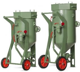 Абразивоструйные аппараты CONTRACOR BlastRazor Z-100, BlastRazor Z-200