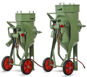 Абразивоструйные аппараты CONTRACOR BlastRazor Z-25 RC, BlastRazor Z-50 RC