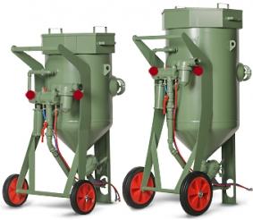 Абразивоструйные аппараты CONTRACOR BlastRazor Z-100 RC, BlastRazor Z-200 RC