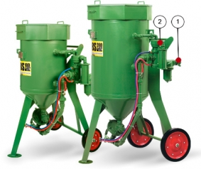 Пескоструйные (абразивоструйные) аппараты CONTRACOR DBS-100 RC, DBS-200 RC