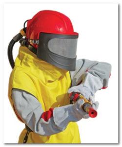 Защита для пескоструйного оборудования